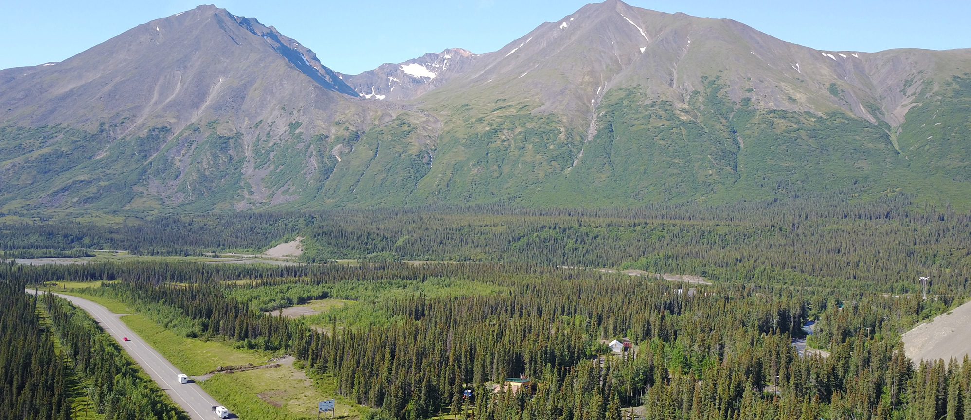 Home carlo creek lodge for Denali national park cabins